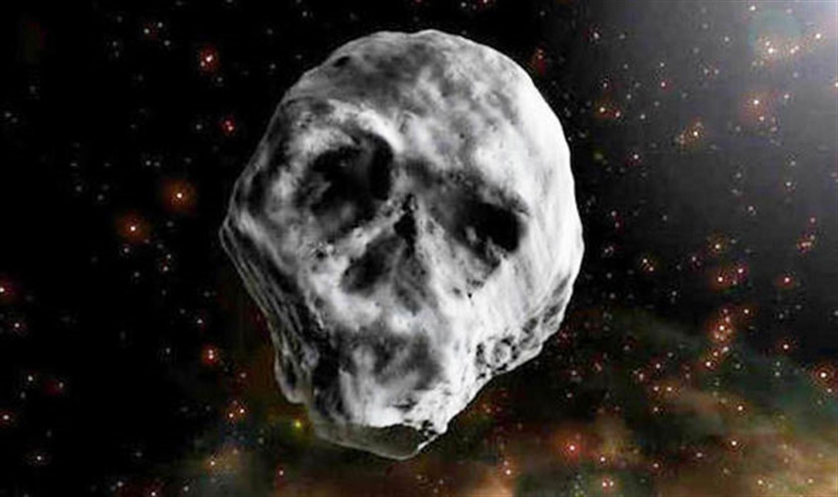 НаХеллоуин кЗемле приблизится астероид вформе черепа