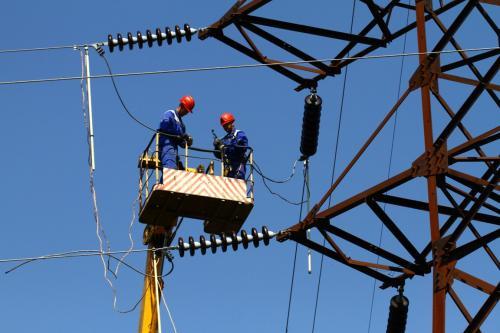 На севере Крыма снова выключили электричество