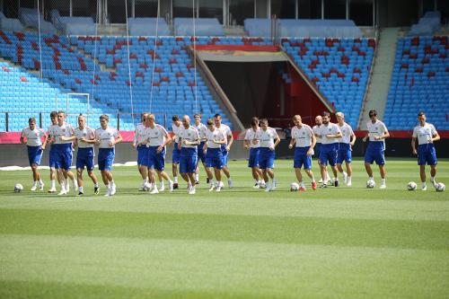 Сборная России определилась со стартовым составом на матч с Турцией
