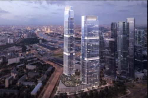 Срок строительства комплекса Neva Towers в «Москва-Сити» продлили до конца 2020 года