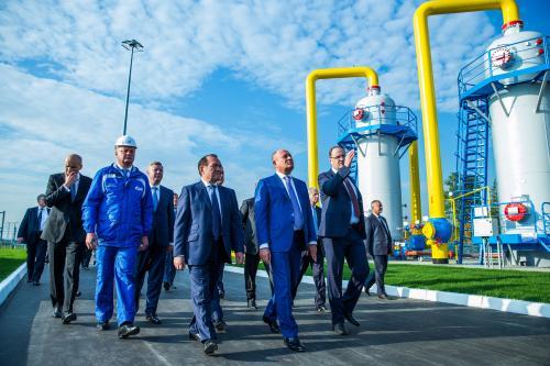 Газпром способен увеличить добычу газа на 5% в 2018 году