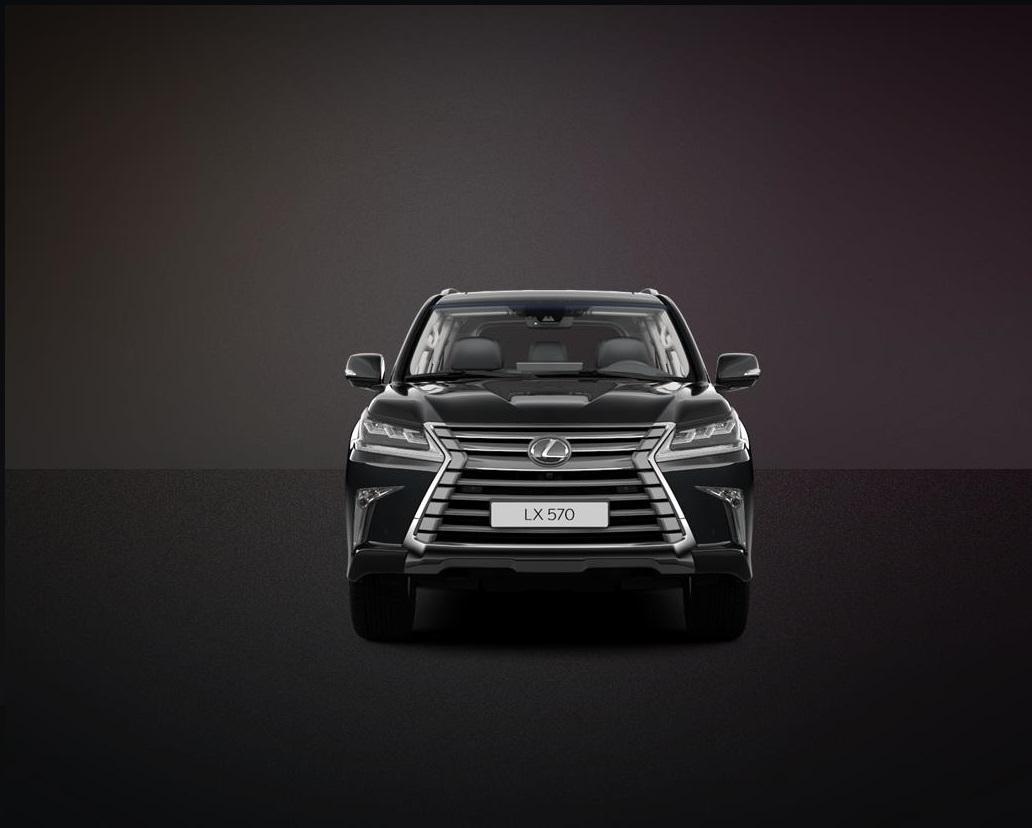 В России начали продавать спецверсию внедорожника Lexus 570