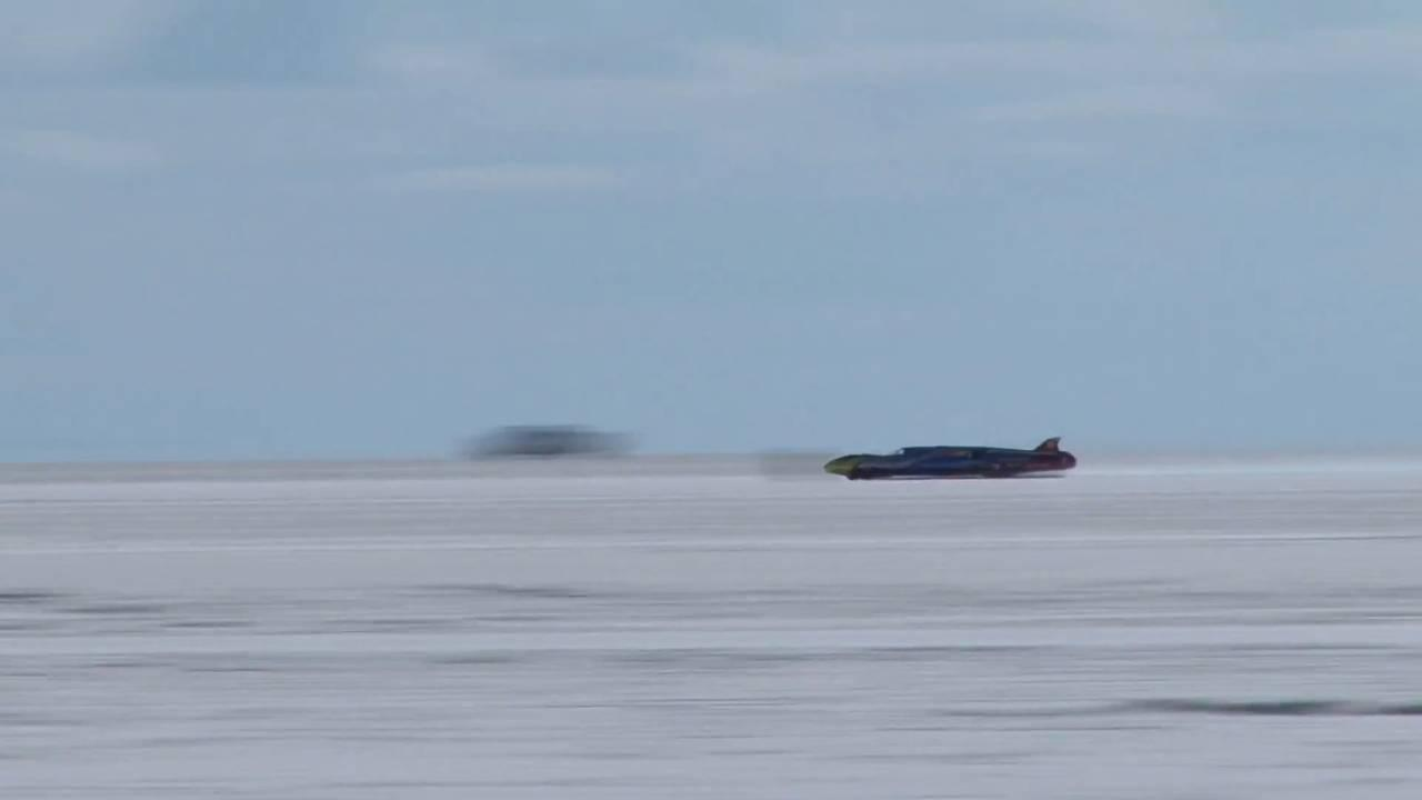 ВСША установлен новый мировой рекорд скорости
