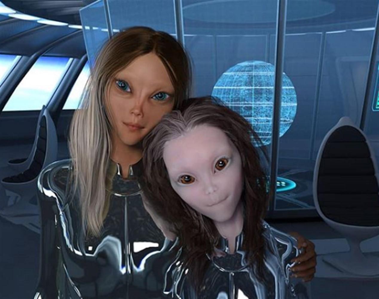 Инопланетяне похитили девушку для секса