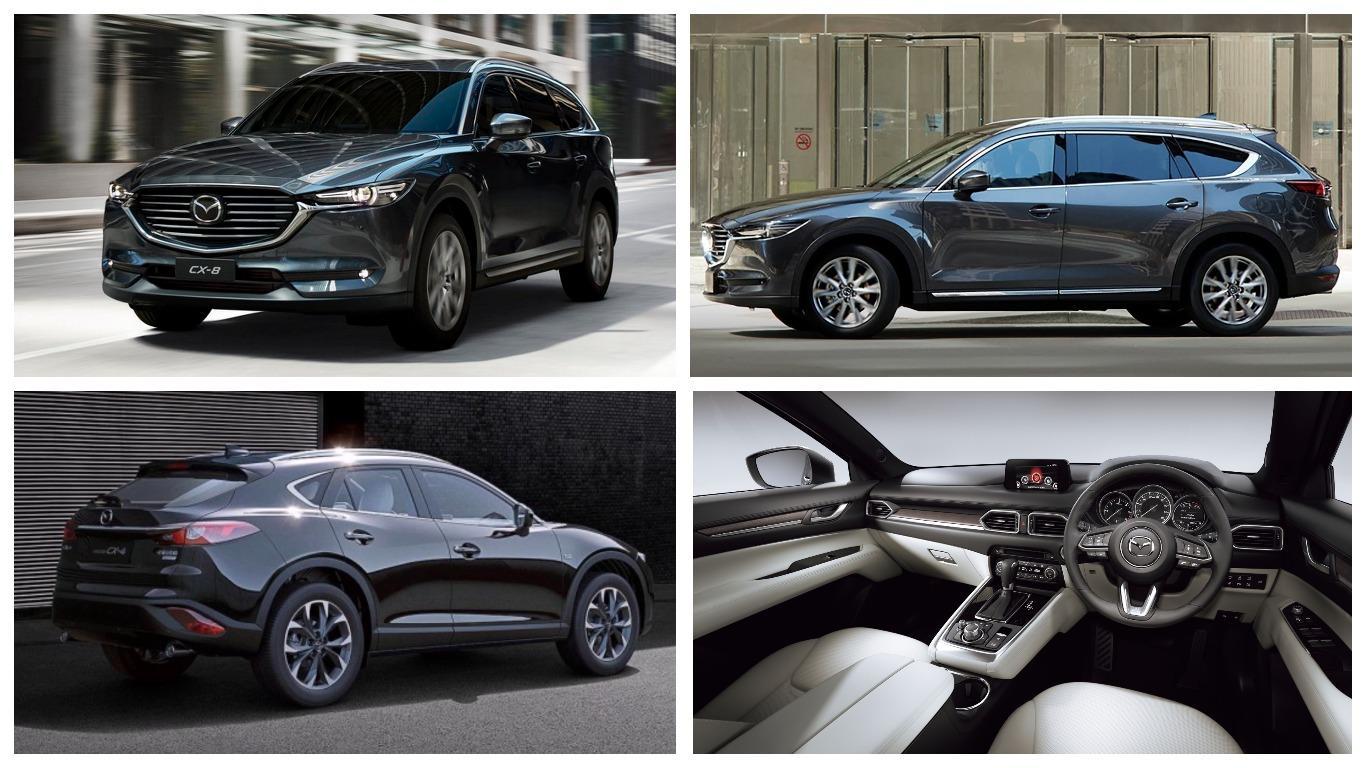 Mazda CX-8 получила новые моторы для домашнего рынка