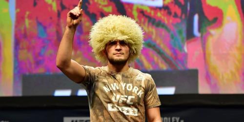 Нурмагомедов показал требуемый вес перед боем в Макгрегором в Лас-Вегасе