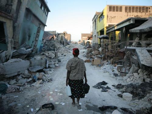 Землетрясение на Гаити унесло жизни 11 человек