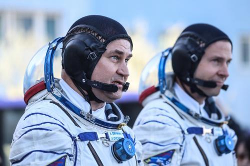Космонавт Сергей Прокопьев поделился фотографиями момента аварии «Союз МС-10»