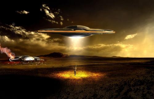 Инопланетный НЛО «устроил фейерверк» в небе над Альбукерке – уфологи