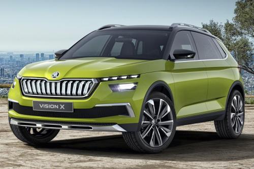 Skoda к 2020 году выпустит «убийцу» кроссовера Nissan Juke