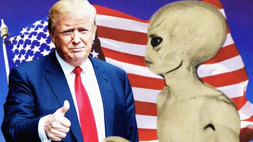 Трамп, Путин и товарищ Си являются куклами, надетыми на пальцы пришельцев - Сноуден