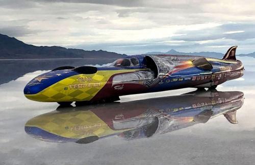 В США установлен новый мировой рекорд скорости