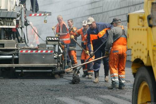 В Ленобласти запретили асфальтировать дороги