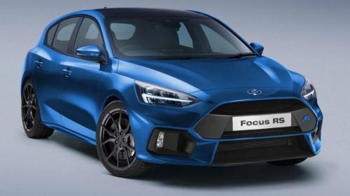 В сети показали фото Ford Focus RS нового поколения