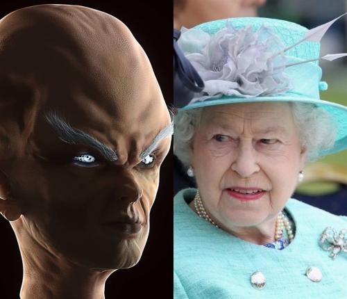 «НЛО в Лондоне»: Британская королева в опасности из-за корабля с Нибиру - соцсети