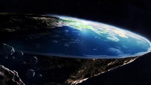 «Мы не идиоты»: Сторонники теории «Плоская Земля» считают, что США никогда не были в космосе