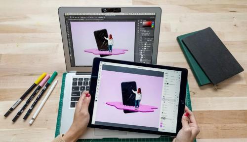 Разработчики показали демоверсию фотошопа для iPad