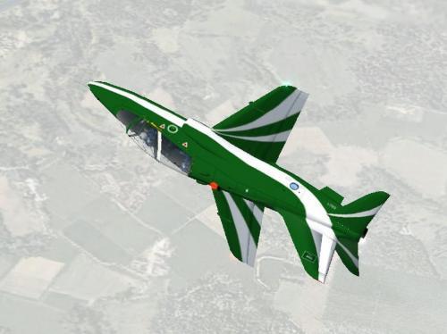 Штурмовик Hawk разбился в Саудовской Аравии, оба пилота погибли
