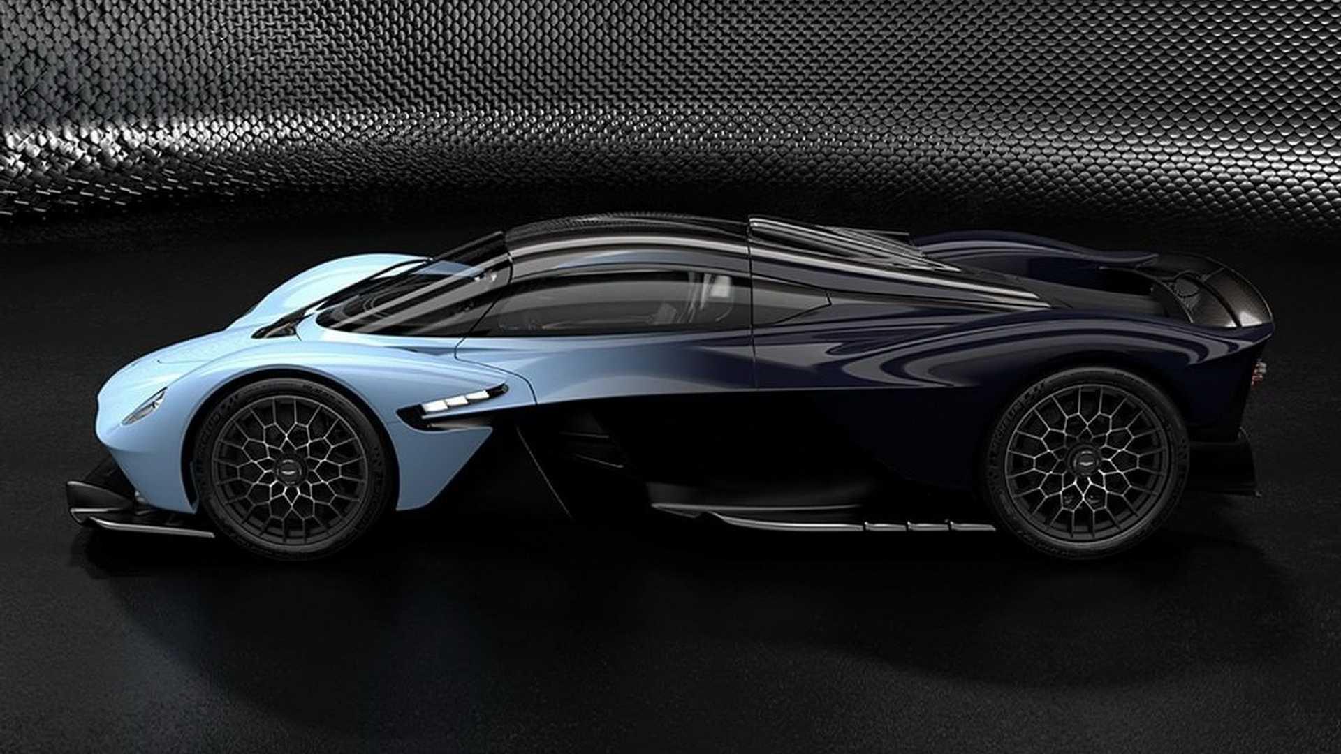 Aston Martin Valkyrie: новые изображения