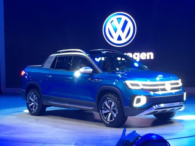 VW представил собственный самый компактный пикап Tarok