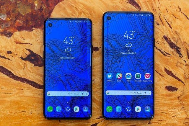 d0acf61b55063 Samsung сделает большой шаг в 2019 и смартфон примет всесторонний дизайн  Разработчик Рональд Квондт заявил, что три модели Galaxy S10 находятся в ...