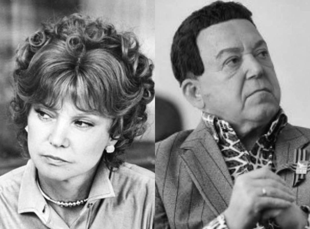Картинки по запросу причины развода Кобзона и Гурченко