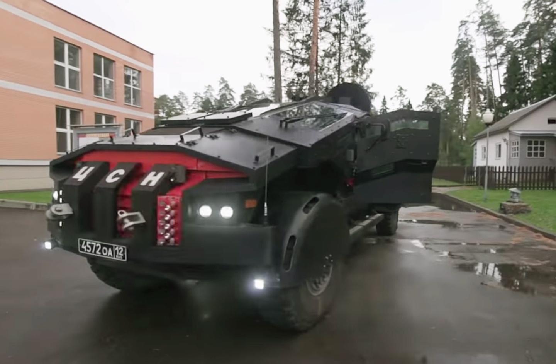 Для ФСБ создали нереальный автомобиль нашасси отКАМАЗа