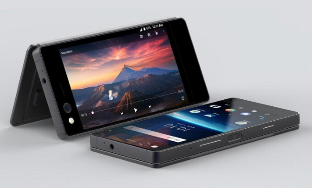 В РФ начинают торговать 1-ый смартфон соскладным дисплеем - ZTE Axon M