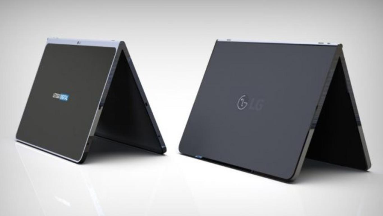 LGзапатентовала безрамочный планшет сбеспроводной клавиатурой