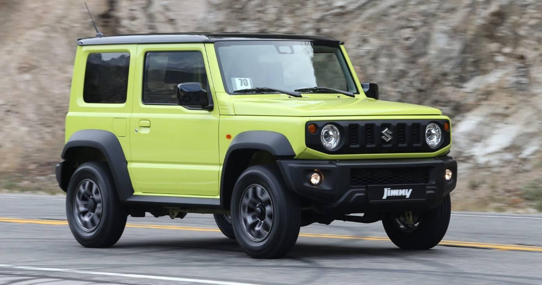 Маленький Гелендваген»: Новый Suzuki Jimny стал похож на Mercedes