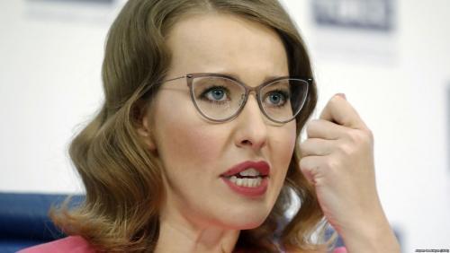 Ksenia Sobchak dejó Maxim Vitorgan