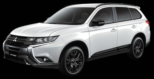Mitsubishi Outlander, Eclipse Cross и Mirage получили особое исполнение Black Edition