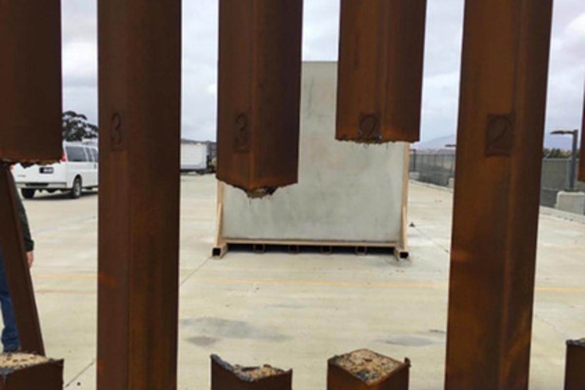 Прототипы стены награнице США сМексикой непрошли тестирования: NBC