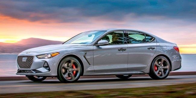 Genesis G70 получил звание «Автомобиль года» вСША