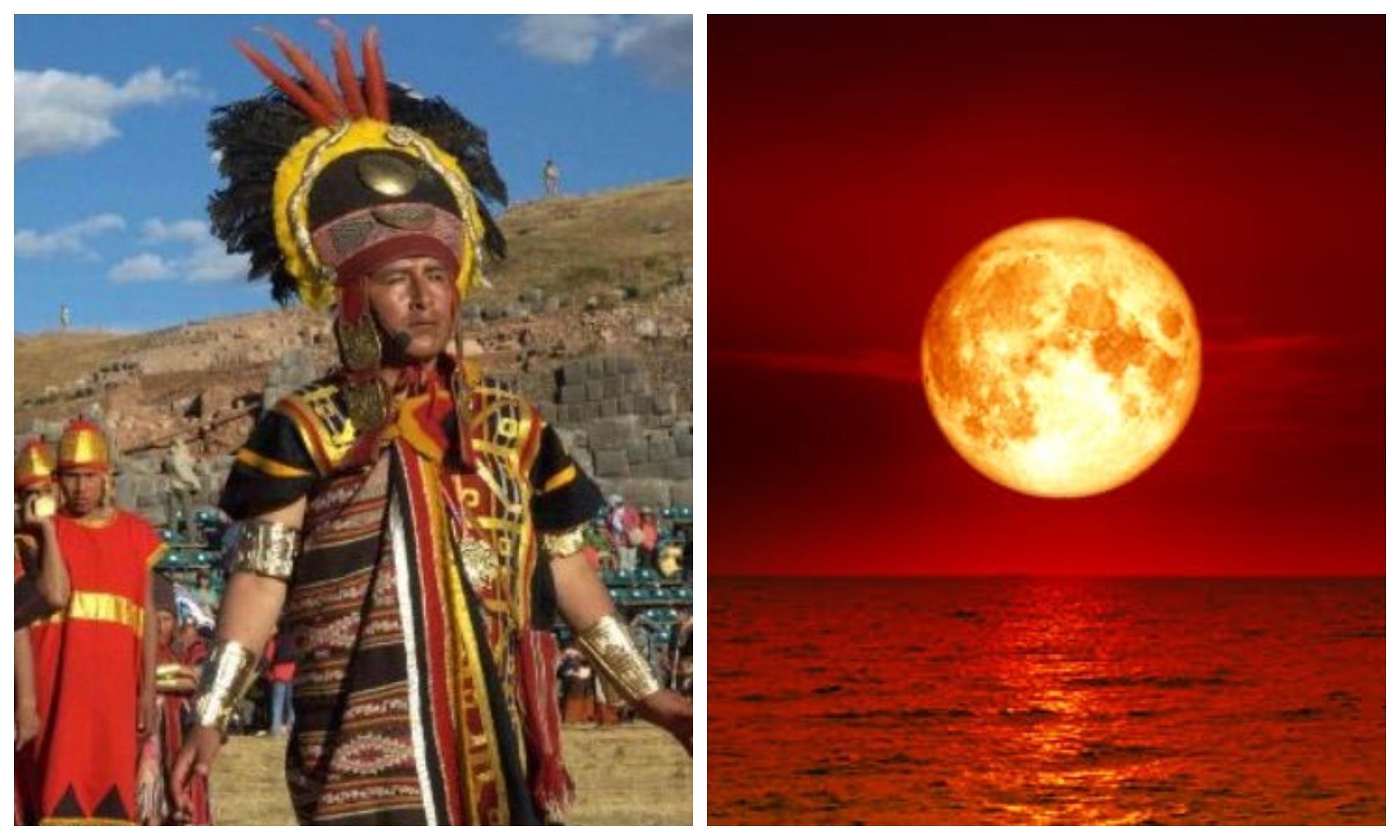 Супер-кровавая Луна уничтожит человечество— предсказание древних инков