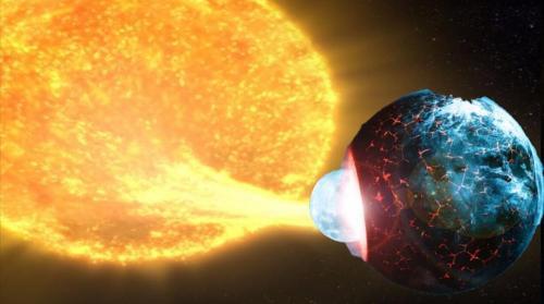 Нибиру пожирает наше Солнце
