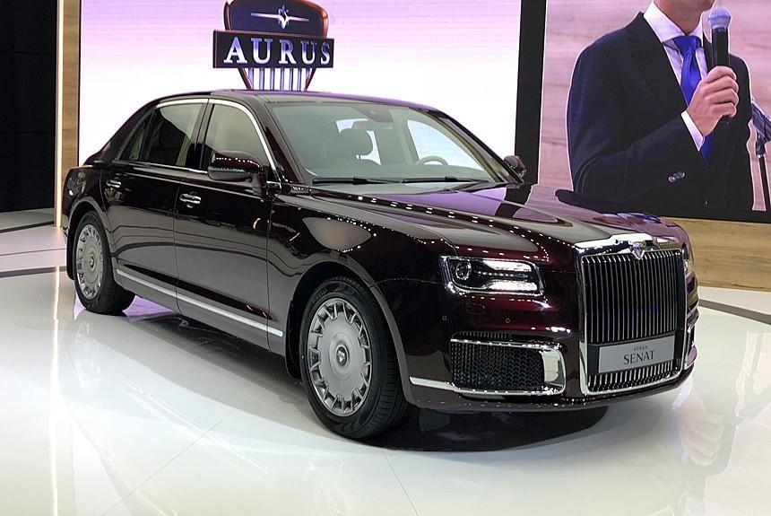 Лимузин В. Путина: представители начнут принимать заказы наавтомобили Aurus