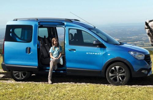 Renault Dokker Stepway: Представлен новый кросс-фургон за миллион рублей
