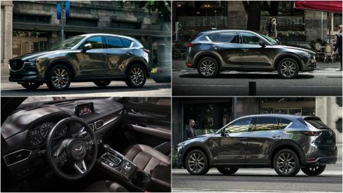 Еще более безопасный: Стали известны цены на обновленный кроссовер Mazda CX-5 для России