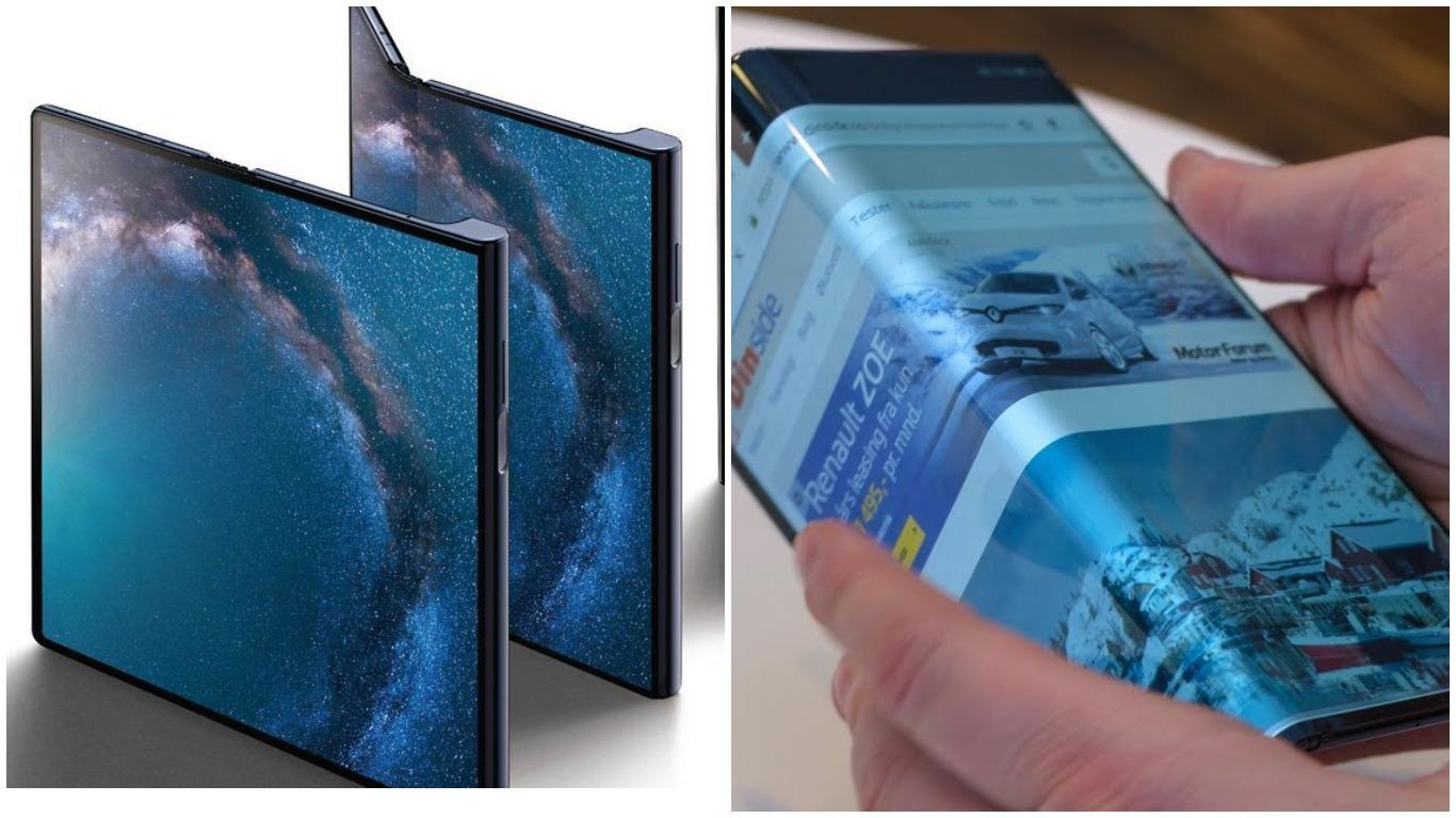 Гибкий Huawei Mate Xотложен доначала осени