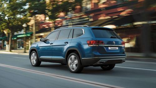 «Бюджетный» кроссовер за 3 000 000: Базовую модификацию Volkswagen Teramont X показали в Китае