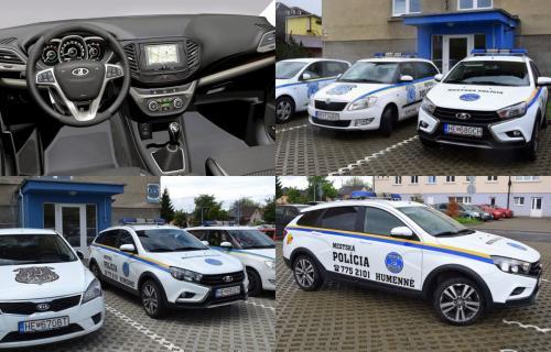 Лучше Škoda и KIA: LADA Vesta появилась в полиции Словакии