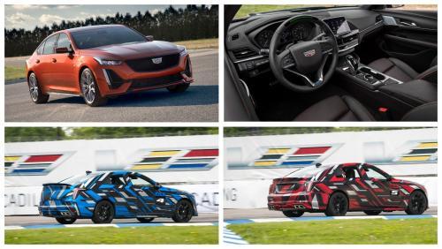 Cadillac вывел на трассу 2 новых прототипа «заряженных» моделей V-Series