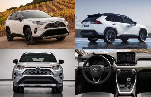 Продажи Toyota RAV4 нового поколения стартуют в октябре