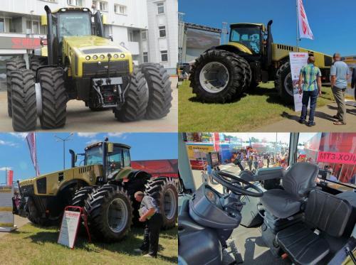 500-сильный «богатырь»: В Беларуси представлен сверхмощный трактор