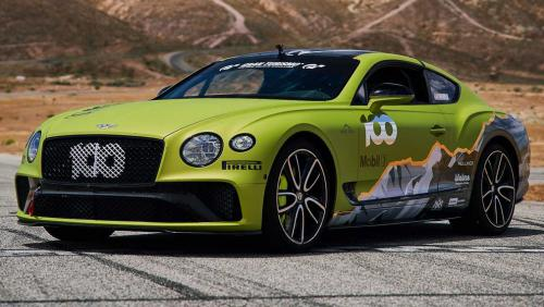 Новый Bentley Continental GT будет «штурмовать» гору Пайс-Пик на время