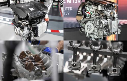 «Дикая четверка»: Mercedes-AMG продемонстрировал самый мощный мотор