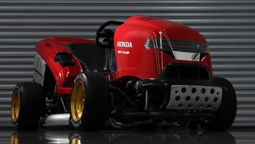 Новый рекорд Гиннеса установила газонокосилка от Honda
