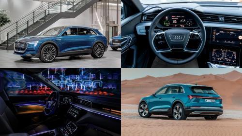 Электрические кроссоверы Audi E-Tron отзовут для контрольного осмотра