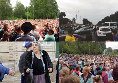 Участковый с огурцом в кобуре: В Сети раскрыли тайну противостояния в Чемодановке